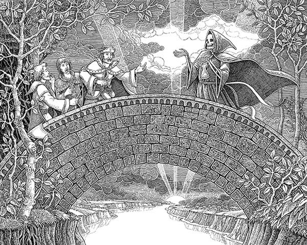 The Death in the bridge
